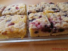 Bublanina - Czech summer cake with fruit