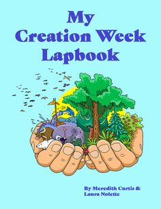 My Creation Week Lapbook – Powerline Productions. With a desire to teach our children about our magnificent Creator God and His beautiful creation, we designed this lapbook for the whole family to learn together. My Creation Week Lapbook is an engaging 8-week themed Bible and STEM unit study lapbook on the very fist week of world history when God created the heavens and the earth.  #CreationWeek #Lapbook #CreationScience Hands On Learning, Hands On Activities, Learning Activities, Steam Activities, Teaching Science, Days Of Creation, Making A Model, Memory Verse, Preschool Kindergarten