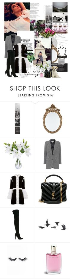 """""""wild, wild, wild; when i'm with you all i get is wild thoughts."""" by youarebeautifulmydarling ❤ liked on Polyvore featuring Wall Pops!, Therapy, Jennifer Lopez, Étoile Isabel Marant, macgraw, Yves Saint Laurent, Gianvito Rossi, Jayson Home, Violet Voss and Lancôme"""