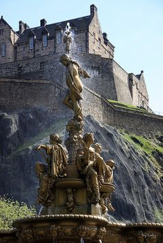 Edinburgh ~ is the capital city of Scotland, situated in Lothian on the shores of the Firth of Forth.