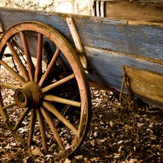 . Wooden Cart, Wooden Wagon, Wooden Wheel, Country Art, Country Life, Horse Drawn Wagon, Wagon Wheels, Old Wagons, Keeping Secrets