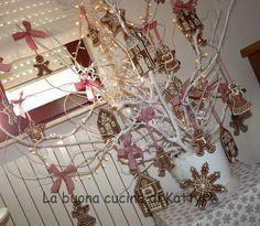 La buona cucina di Katty: Il mio albero di Natale 2012 con i biscotti di pan speziato