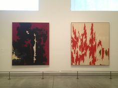 Clifford Still  oil on canvas 1049-A-No.1, 1949 PH-1033, 1976