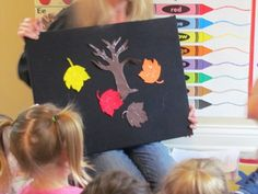 I think I'm going to be pinning a LOT from this site. Fall leaves lesson (egg carton painting)