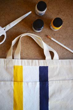 Tote Bag DIY | Cupcakes & Cashmere