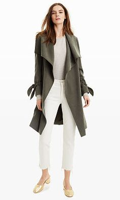 Woman | Ellayne Trench Coat | Club Monaco