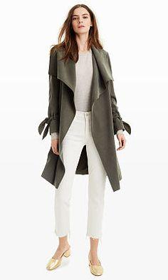 Woman | Ellayne Trench Coat | Club Monaco