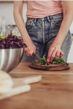 Tracey Anderson's gut-friendly salad recipe.