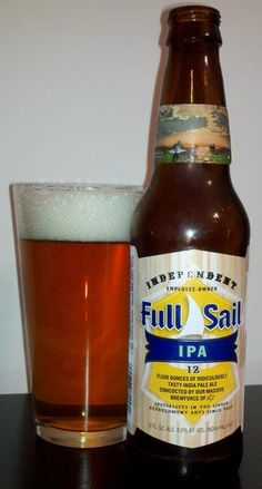 BrewChief.com Review of Full Sail IPA (Full Sail Brewing Co.) : My fondness for Full Sail Brewing beers started long ago when on a whim, I ordered ''one of those little stubby beers'' that had caught my eye while sitting at a bar. It was as simple as that. I had heard nothing about the brewery, nor did I know anything about any of their beers...