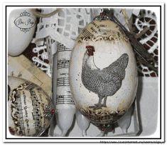 Easter Eggs, Embroidery Designs, Decoupage, Diys, Christmas Bulbs, Crafting, Diy Crafts, Holiday Decor, Inspiration