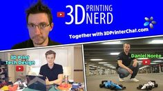3D Printer giveaway by @3D PRINTER CHAT @Joel Telling @Anton Månsson @Daniel Norée #win a #3DPrinter #3dprinting #giveaway