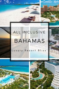 Top travel destinations in the Bahamas for couples and families. THings to do and attractions! Great All Inclusive Resorts! Bahamas All Inclusive, Caribbean All Inclusive, Bahamas Resorts, Bahamas Honeymoon, All Inclusive Family Resorts, Inclusive Holidays, Honeymoon Hotels, Bahamas Vacation, Caribbean Vacations