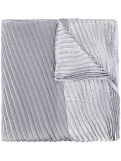 Shop Armani Collezioni pleated scarf  in Spinnaker Sanremo from the world's best independent boutiques at farfetch.com. Shop 400 boutiques at one address.