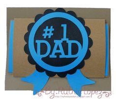 #1 Dad card - Tutorial Jardin de Ideas - Retos Abby - Ruthie Lopez