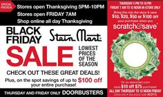 Stein Mart Black Friday 2014 begins Thanksgiving Day: 4 page ad released online