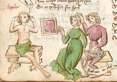 Thomasin : Der welsche Gast Schwaben, 3. Viertel 15. Jh. Cgm 571  Folio 78