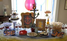A Nautical 1st Birthday Party -