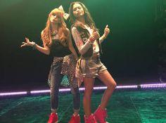"Zendaya & Bella Thorne's video for ""Contagious Love"" premieres Friday on Disney Channel! Bella Thorne Video, Bella Thorne And Zendaya, Zendaya Coleman, Disney Channel Stars, Disney Stars, Rocky Blue, Shake It Up, Bella Throne, Nostalgia"