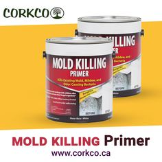 Corkco offers Eco-friendly mold killing primer, which can be applied any on any surface where you want to better mold resistance. Building Construction Materials, Mold And Mildew, Ottawa, Eco Friendly, Surface, Canada, Water, Gripe Water