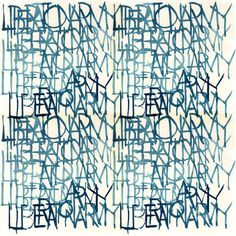 calligraphy by Mike Mills.