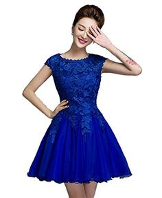 YORFORMALS Cap Sleeve Lace Short Homecoming Prom Party Dr... https://www.amazon.com/dp/B01MFCI66M/ref=cm_sw_r_pi_dp_x_95.eybWFK1FXT