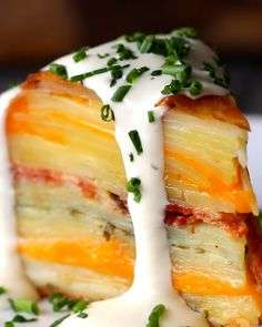 Scalloped Potato Dome Recipe by Tasty