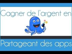 Gagner de l'argent rapidement en partageant des apps Ios, Android, Shout Out, Winnie The Pooh, Disney Characters, Fictional Characters, Youtube, Earning Money, Projects