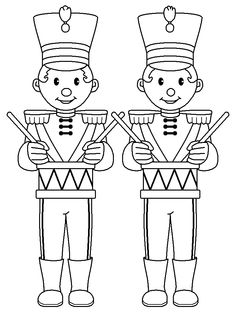 coloring pages of toy soldier - photo#16