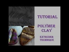 DIY|Embossed pattern from polymer clay Part 1 - YouTube