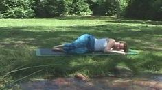 Yoga for Better Sleep ~ Full Class 35 min ~ Insomnia Relief, Relaxation, Calming, via YouTube.