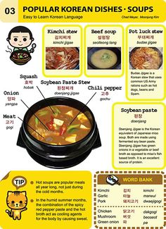 03 Popular Korean Dishes - Soups
