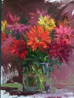 Lori Putnam I love the brush strokes and the color. Beautiful.