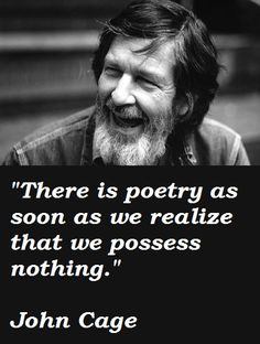 Image result for john cage quote rhythm