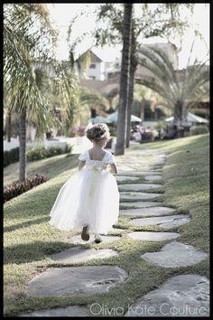 dbfd5827c68 Destiny in Satin Flower Girl Dress .... oliviakate.com Wedding Flower Girl