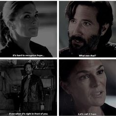It's hard to recognize hope, even when it's right in front of you     what was that?  let's call it HOPE.. #hope #the100 #kabby