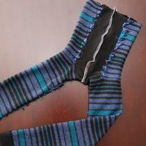baby leggings from socks