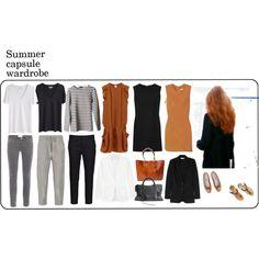 """Capsule wardrobe #2"" by eizhowa on Polyvore"