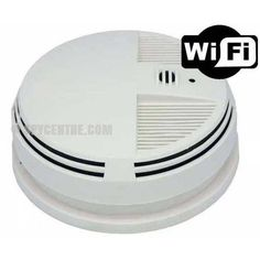 WiFi Smoke Detector Hidden Nanny Camera - Side View Camera - Spy Centre Security