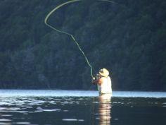 Pesca con mosca en el L. Fakner  NQN