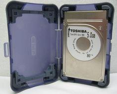 Toshiba PCMCIA 5 GB Type II PC Card Laptop Hard Disk Drive MK5002MPL w Case | eBay