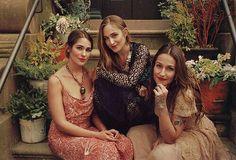 Lola, Jemima y Domino Kirke
