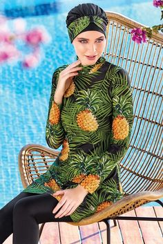 Adasea 4082 Full Cover Burkini Swimsuit is one of the most stylish set of 2019 spring - summer collection Adasea 4082 Full Cover Burkini Swimsuit details, Maillots de Bain pour Femme Adasea 4082 full cover burkini swimsuit Modest Swimsuits, Modest Dresses, Modest Outfits, Modest Fashion, Summer Outfits, Islamic Swimwear, Muslim Swimwear, Hijab Trends, Red Swimsuit