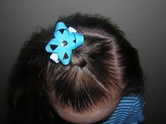 Single Knot Hairstyle from Princess Hairstyles