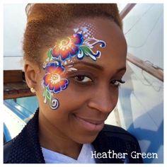Heather Green || one stroke