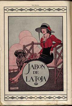JABÓN de La Toja (1917)