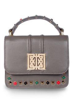 e0e15df329 Mini studded  Sofia  bag grey Bags 2017