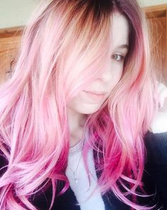 Color-Melting Ombre Hair Trend