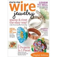 Step by Step Wire Jewelry, February/March 2011: Digital Edition   InterweaveStore.com