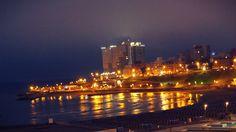 Vista nocturna de la ciudad de Mar del Plata #MDQ #noche #night #MarDel