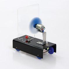 Das Ventilator-Mobil. Antrieb durch Windkraft anschaulich erklärt. | BACKWINKEL